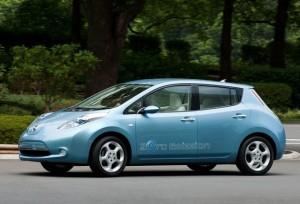 Nissan Leaf Zero Emission Electric Car