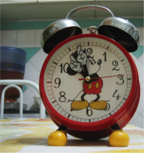Disney Clock in GBB Blog