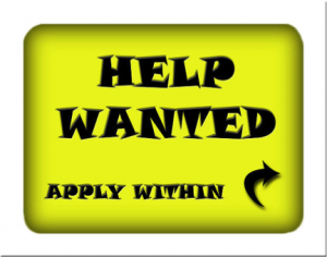 An advertisement for employment in GBB Blog